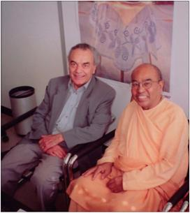 Professor Arber and Maharaja