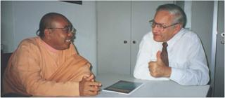 Professor Ernst and Maharaja